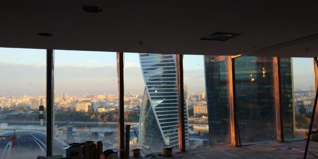 Ремонт офиса в башне Федерация Москва-СИТИ