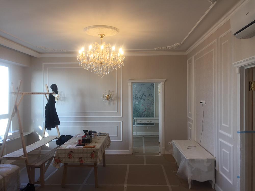 Квартира современная классика — ЖК Ботанический сад